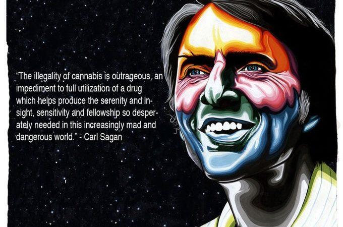 Carl Sagan Cannabis Quote