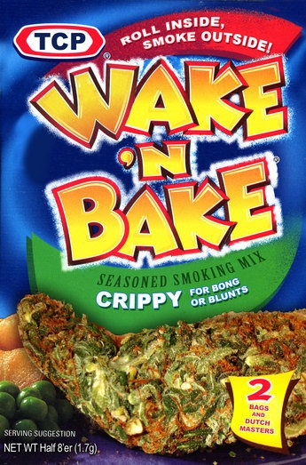 wake and bake meme
