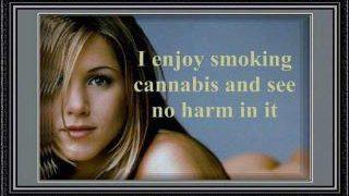 Jennifer Aniston Marijuana Quote