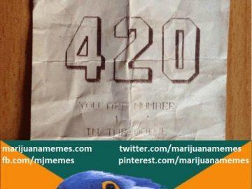 ganja gods sign 420 ticket