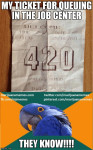 ganja gods sign 420 ticket