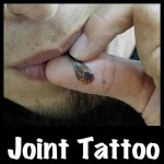 Joint roach tattoo