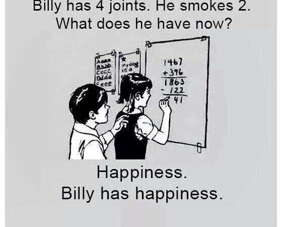 Marijuana Maths