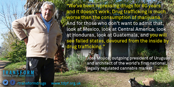 José Mujica Drug Trafficking Quote