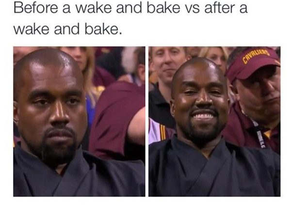 Before and After Your Wake n Bake