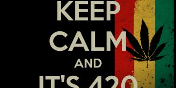 keep calm it's 420 somewhere