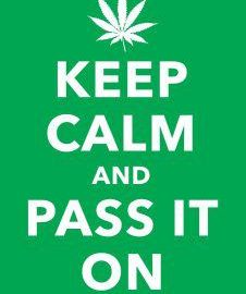 Keep calm and pass it on meme