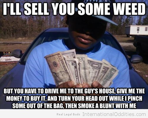 I'll Sell You Some Weed