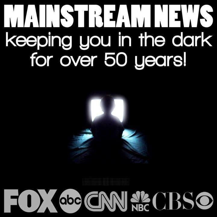 mainstream media blackout meme