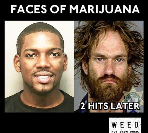Only 2 hits of Marijuana