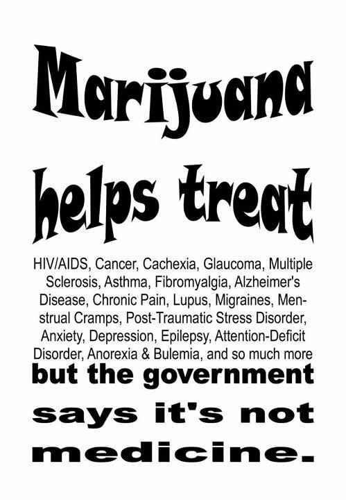 marijuana treats ailments