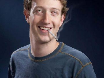 mark zuckerberg stoned