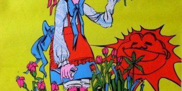 Mary quite contrary garden grow