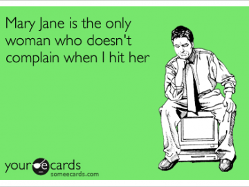 Mary jane woman dosen't complain hit her