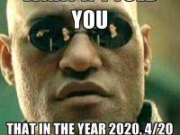 matrix morpheous 420 meme