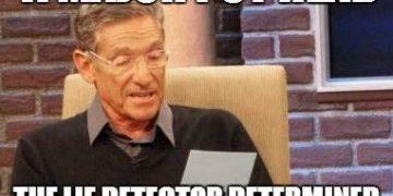 thc bloodtype lie detector meme