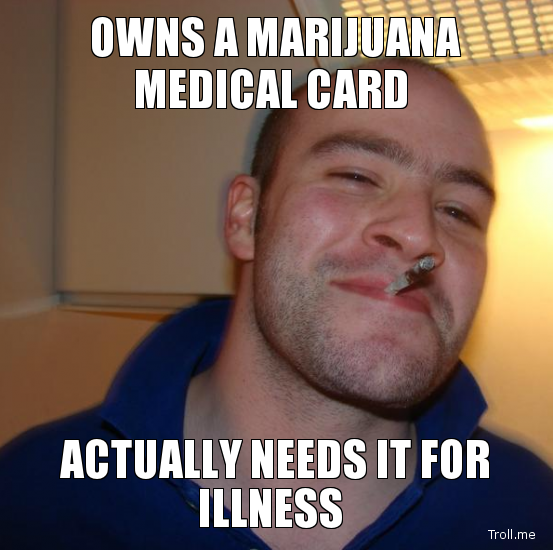 owns medical marijuana card legit