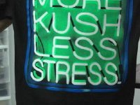 More kush less stress t shirt