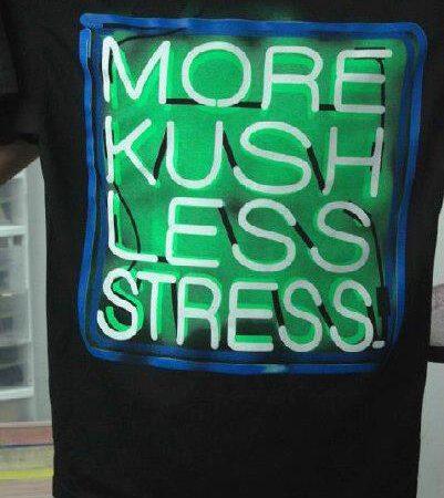 More kush less stress