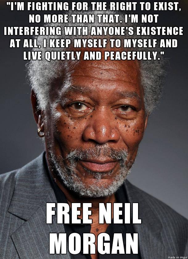 free morgan freeman neil