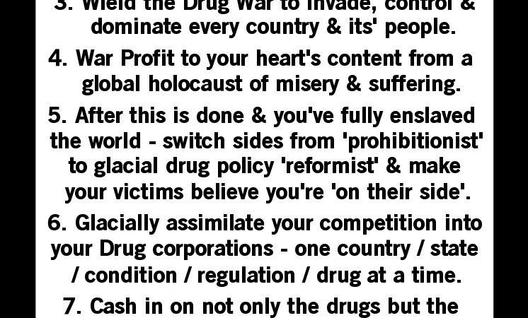"""""""Drug War – The Game."""""""