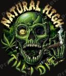 Natural High Til I Die marijuana meme