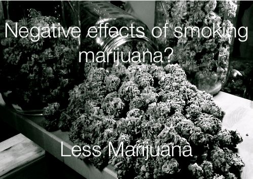 the negative and positive effects of the marijuana But smoking marijuana can have some bad effects on your health, including making breathing problems worse the federal ban on marijuana makes it hard to study its effects on humans for example.