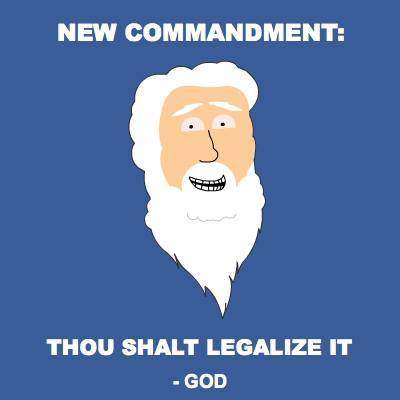 thou shalt legalize Eleventh Commandment