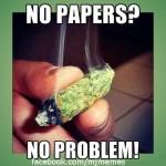 No papers, no problem joint meme