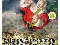 cannabis christmas card