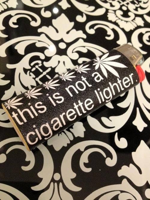 Not A Cigarette Lighter meme