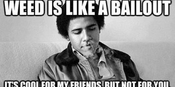 weed like bailout barack obama friends