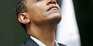 President Barack Obama feeling high