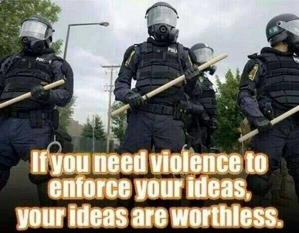 violence force ideas