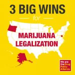 Oregon, Alaska Washington dc legalized