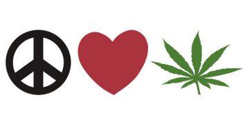 peace love happiness pot