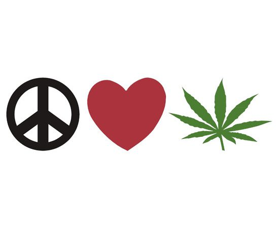 Peace, Love and Pot