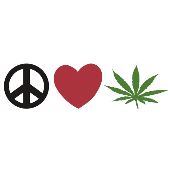 peace love happiness pot