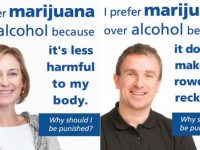 I prefer marijuana over alcohol