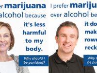 I prefer marijuana over alcohol