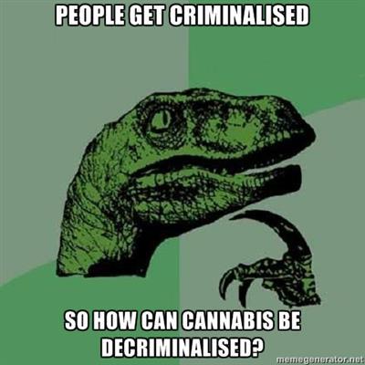 People Get Criminalized decriminalize