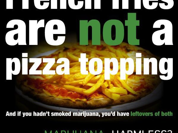 French Fries Are Not Pizza Topping
