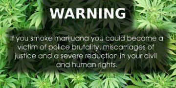 warning smoking marijuana may cause