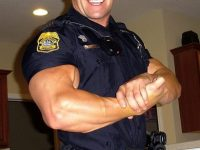 Arrests you for weed, trades it for roids police meme