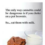 weed brownies advice milk