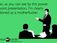 high powerpoint presentation stoned