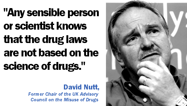 Professor David Nutt drug law quote