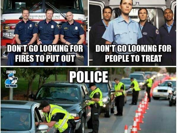 Police: If We Need You, We Will Call!