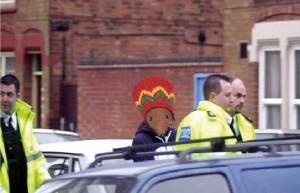 funny rasta mouse arrested police