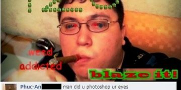 Red-Eye Photoshopped? Nah Brah just quality weed!